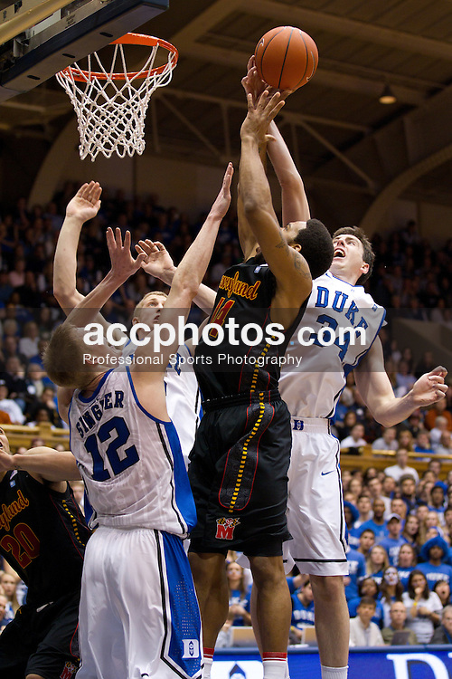DURHAM, NC - JANUARY 09:  on January 09, 2011 at Cameron Indoor Stadium in Durham, North Carolina. Duke won 71-64. (Photo by Peyton Williams/Getty Images) *** Local Caption *** XXXXXXXXXXXX
