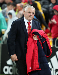 British and Irish Lions head coach Warren Gatland after the second test of the 2017 British and Irish Lions tour at Westpac Stadium, Wellington.