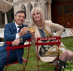 Raymond Blanc and Joanna Lumley