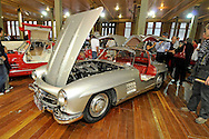 1956 Mercedes Benz 300SL Gull Wing.RACV Motorclassica.The Australian International Concours d'Elegance & Classic Motor Show.Royal Exhibition Building .Carlton, Melbourne, Victoria.October 22nd 2011.(C) Joel Strickland Photographics.Use information: This image is intended for Editorial use only (e.g. news or commentary, print or electronic). Any commercial or promotional use requires additional clearance.