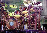 Rush performing at Nationwide Arena in Columbus, OH on August 29, 2010.