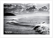Early morning surfers at Ballina [Ballina, NSW]<br /> <br /> To order please email orders@girtbyseaphotography.com quoting the image title or reference number, and your preferred print size. You will receive a quick reply recommending print media options to best suit your chosen image, plus an obligation-free quotation. See the pricing page for current standard size prices.