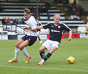 Dundee's Nicky Low (right) and Raith's James Craigen - Raith Rovers v Dundee, pre-season friendly at Starks Park<br /> <br />  - &copy; David Young - www.davidyoungphoto.co.uk - email: davidyoungphoto@gmail.com