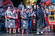 Dress rehearsal of the Mikado performed by the Derby Gilbert & Sullivan Company in Buxton Opera House, Buxton, England on Friday 03 August 2018 Photo: Jane Stokes<br /> <br /> Director & Musical Director: Andrew Nicklin<br /> <br /> Choreographer: Jackie O'Brien