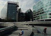 London, Southwark, more London riverside, the scoop, Tower bridge