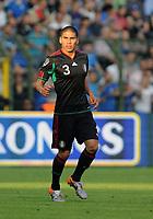 """Carlos Salcido (Messico)<br /> Bruxelles, 03/06/2010 Stadio """"Re Baldovino""""<br /> Italia-Messico<br /> Friendly match 2009/2010<br /> Foto Nicolo' Zangirolami Insidefoto"""