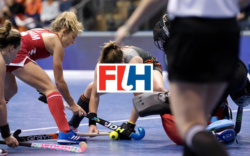 BERLIN - Indoor Hockey World Cup<br /> Women: Netherlands - United States<br /> foto: ROOSEN Fabienne.<br /> WORLDSPORTPICS COPYRIGHT FRANK UIJLENBROEK
