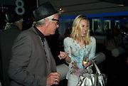 NICKY HASLAM; IMOGEN LLOYD-WEBBER, Elizabeth Arden's 'Eight Hour' party. Kingly St. London. 7 August 2008. *** Local Caption *** -DO NOT ARCHIVE-© Copyright Photograph by Dafydd Jones. 248 Clapham Rd. London SW9 0PZ. Tel 0207 820 0771. www.dafjones.com.