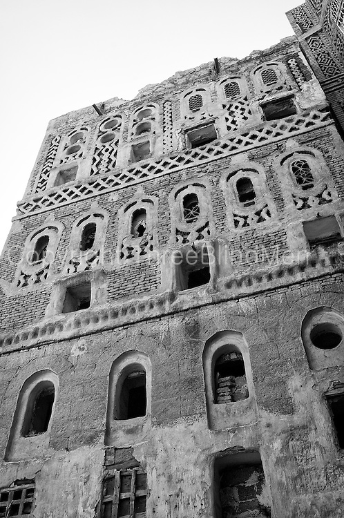 The architecture of the old city of San'a.