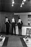 28/03/1963<br /> 03/28/1963<br /> 28 March 1963<br /> DAKs Men's style fashion show at the Gresham Hotel, Dublin.