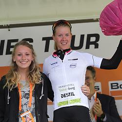 02-09-2017: Wielrennen: Boels Ladies Tour: Vaals: Demi de Jong
