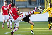 KERKRADE - 20-11-2016, Roda JC - AZ, Park Stad Limburg Stadion, 1-1, AZ speler Alireza Jahanbakhsh, Roda JC speler Marcos Gullon