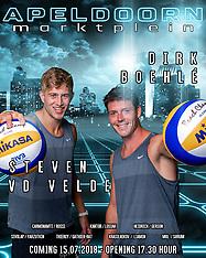 20180711 NED: EC Beach teams Netherlands, Utrecht