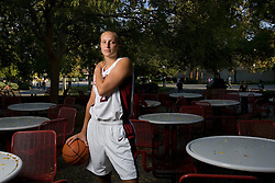 Stanford athletics - Krista Rappahahn, Stanford basketball outside Tressider