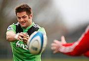 Richie McCaw during Crusaders Training, Super Rugby, Rugby Union. Held at Rugby Park, Christchruch. Wednesday 25 January 2012. Joseph Johnson/photosport.co.nz