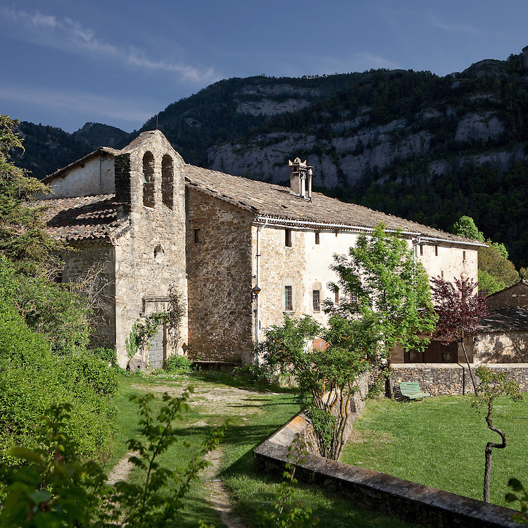 Old house in the Pyrinees, Lleida, Spain