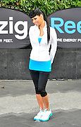 29.NOVEMBER.2010. LONDON<br /> <br /> NICOLE SHERZINGER LAUNCHES REEBOK'S NEW ENERGY BOOSTING TRAINER ZIGTECH AT WESTFIELD SHOPPING CENTRE.<br /> <br /> BYLINE: EDBIMAGEARCHIVE.COM<br /> <br /> *THIS IMAGE IS STRICTLY FOR UK NEWSPAPERS AND MAGAZINES ONLY*<br /> *FOR WORLD WIDE SALES AND WEB USE PLEASE CONTACT EDBIMAGEARCHIVE - 0208 954 5968*