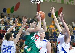 Saso Ozbolt of Olimpija at second finals basketball match of Slovenian Men UPC League between KK Helios Domzale and KK Union Olimpija, on May 30, 2009, in SC Domzale, Domzale, Slovenia. (Photo by Vid Ponikvar / Sportida)