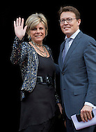 Amsterdam, 2-12-2015<br /> <br /> King Willem-Alexander and Queen Maxima, Prince Constantijn and Princess  Laurentien, Princess Beatrix and Princess Mabel attend The Prince Claus Prize ceremony at the Royal Palace of Amsterdam.<br /> <br /> Photo Bernard Ruebsamen/Royalportraits Europe