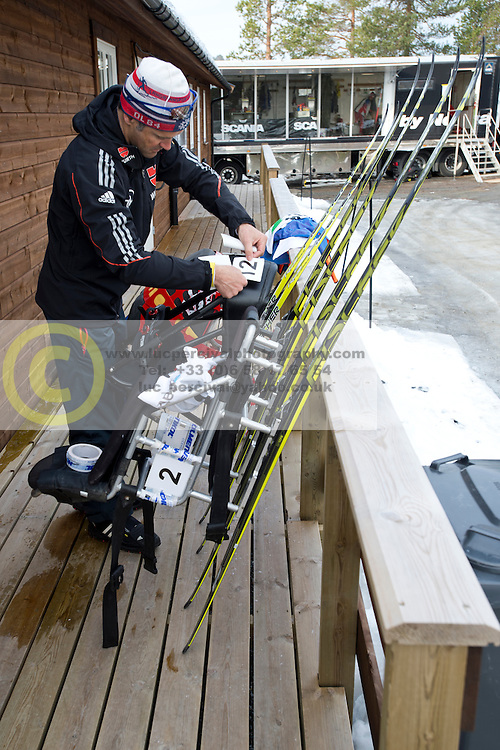 Behind the scenes, GER, Long Distance Cross Country, 2015 IPC Nordic and Biathlon World Cup Finals, Surnadal, Norway