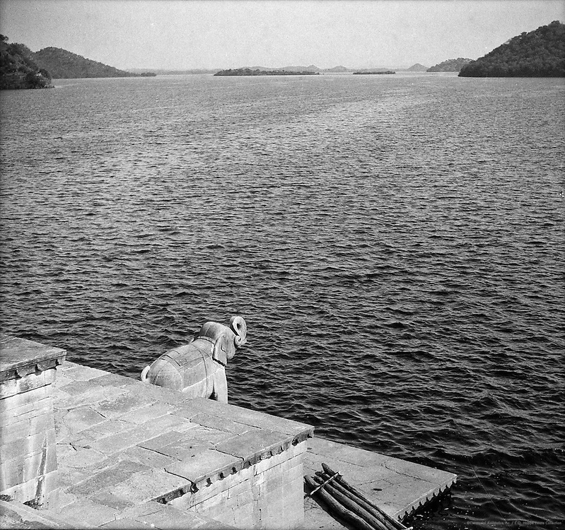 Jaisamand Lake, Udaipur, India, 1929
