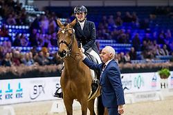 Livens Loranne, BEL, Aragon L<br /> Jumping Mechelen 2019<br /> © Hippo Foto - Sharon Vandeput<br /> 29/12/19