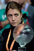 DESCRIZIONE : Final Eight Coppa Italia 2015 Desio Semifinale Olimpia EA7 Emporio Armani Milano - Enel Brindisi<br /> GIOCATORE : Flavia Sansoni<br /> CATEGORIA : vip pregame<br /> SQUADRA : <br /> EVENTO : Final Eight Coppa Italia 2015 <br /> GARA : Olimpia EA7 Emporio Armani Milano - Enel Brindisi<br /> DATA : 21/02/2015<br /> SPORT : Pallacanestro <br /> AUTORE : Agenzia Ciamillo-Castoria/Max.Ceretti