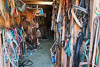 A Saddle Room at Chanslor Ranch, Bodega Bay, California