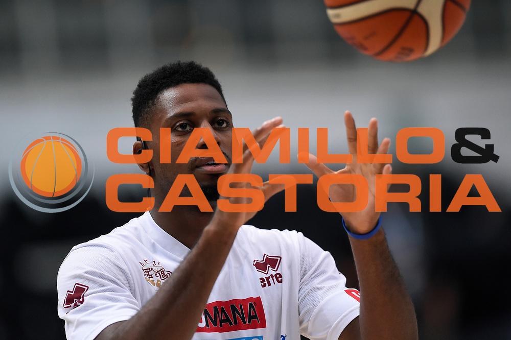 Melvin Ejim<br /> Dolomiti Energia Aquila Basket Trento - Umana Reyer Venezia<br /> Lega Basket Serie A 2016/2017<br /> Playoff, finale gara 3<br /> Trento, 14/06/2017<br /> Foto M.Ceretti / Ciamillo-Castoria