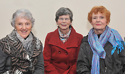 Ann Kenny, Sheila Murphy and Carmel McNally were pictured at the official opening of Mayo Mountain Rescue's headquarters at Pinewoods last week.<br /> Pic Conor McKeown