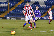 Stoke City U23's Midfielder, Mohamed Choulay (30)  during the EFL Trophy match between Bury and U23 Stoke City at the JD Stadium, Bury, England on 8 November 2017. Photo by Mark Pollitt.