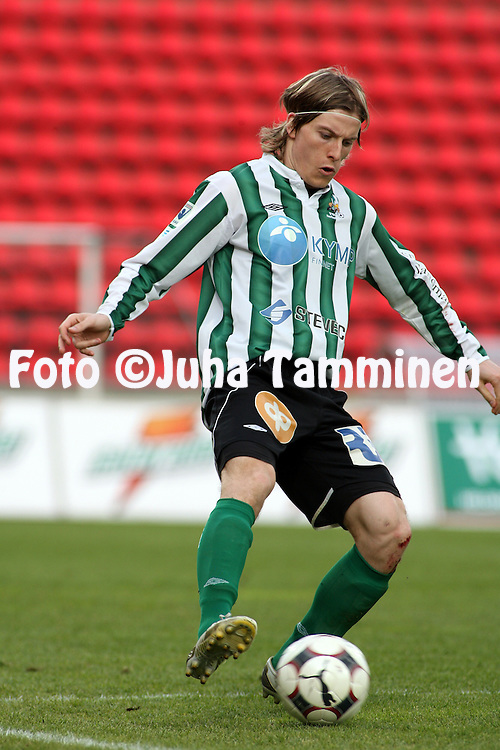 22.05.2008, Ratina, Tampere, Finland..Veikkausliiga 2008 - Finnish League 2008.Tampere United - FC KooTeePee.Ville Oksanen - KooTeePee.©Juha Tamminen.....ARK:k