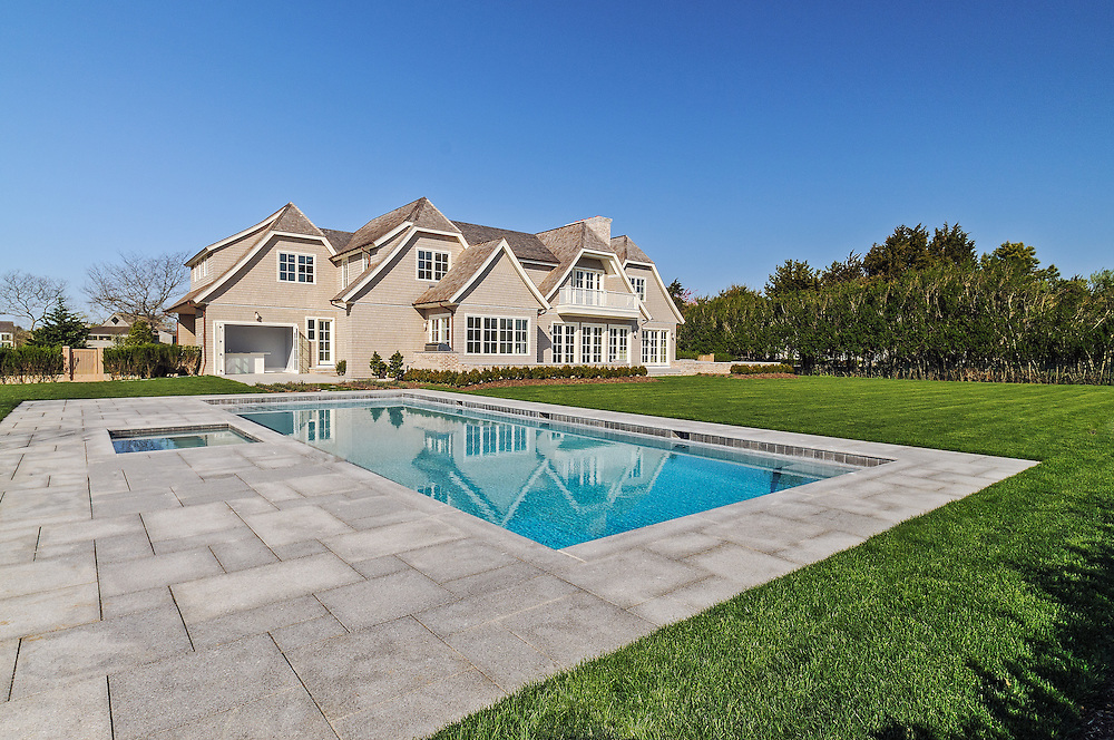 House and Swimming Pool, 79 Ericas Lane, Sagaponack, Long Island, New York