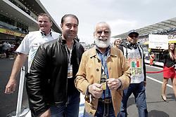 October 30, 2016 - Mexico - EUM20161030DEP29.JPG.CIUDAD DE MÉXICO Motoring/Automovilismo-F1 México.- Diego Fernández de Cevallos asistió al Gran Premio de México que se disputó este domingo 30 de octubre de 2016 en el Autódromo Hermanos Rodríguez de la Ciudad de México. Foto: Agencia EL UNIVERSAL/Alejandro Acosta/RCC. (Credit Image: © El Universal via ZUMA Wire)