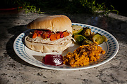 Thanksgiving Leftovers Turkey Sandwich at Libby & Andy's (pricele$$) - Thankgiving in RI