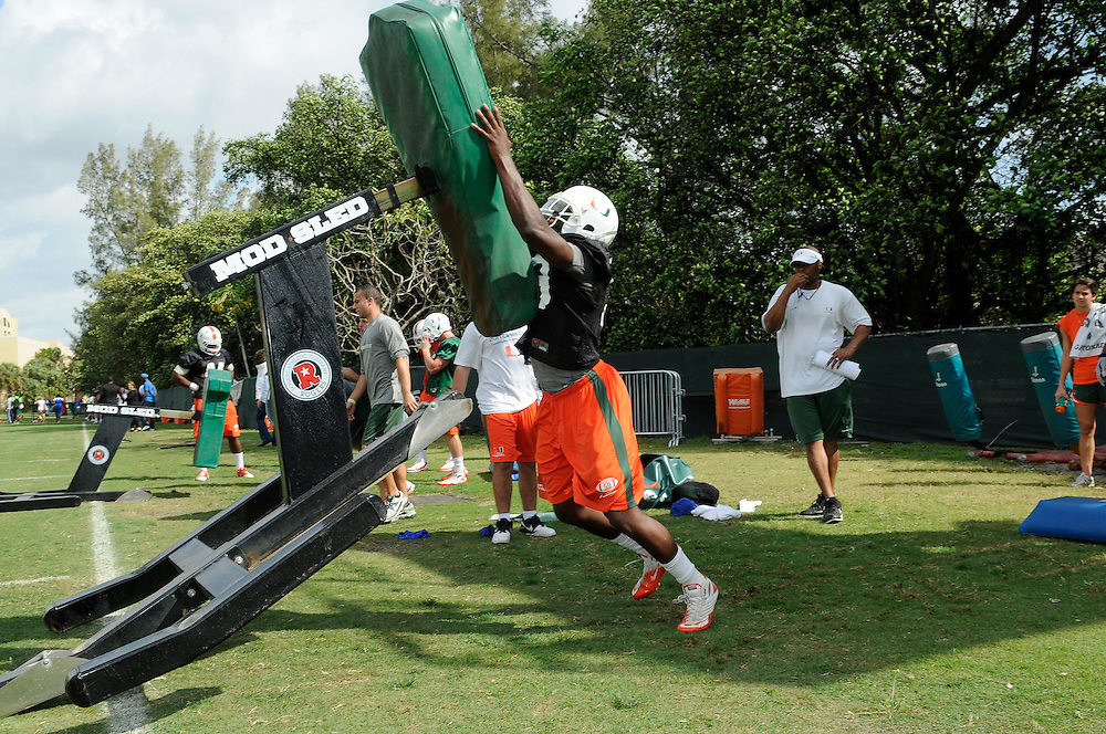 2012 Miami Hurricanes Football - Spring Practice