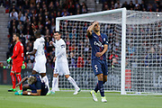 Marcos Aoas Correa dit Marquinhos (PSG) missed it goal form head, expression, during the French Championship Ligue 1 football match between Paris Saint-Germain and SM Caen on May 20, 2017 at Parc des Princes stadium in Paris, France - Photo Stephane Allaman / ProSportsImages / DPPI