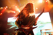 All That Remains performing in support of Dethklok on the Metalocalypse Tour at The Pageant on November 18, 2012.