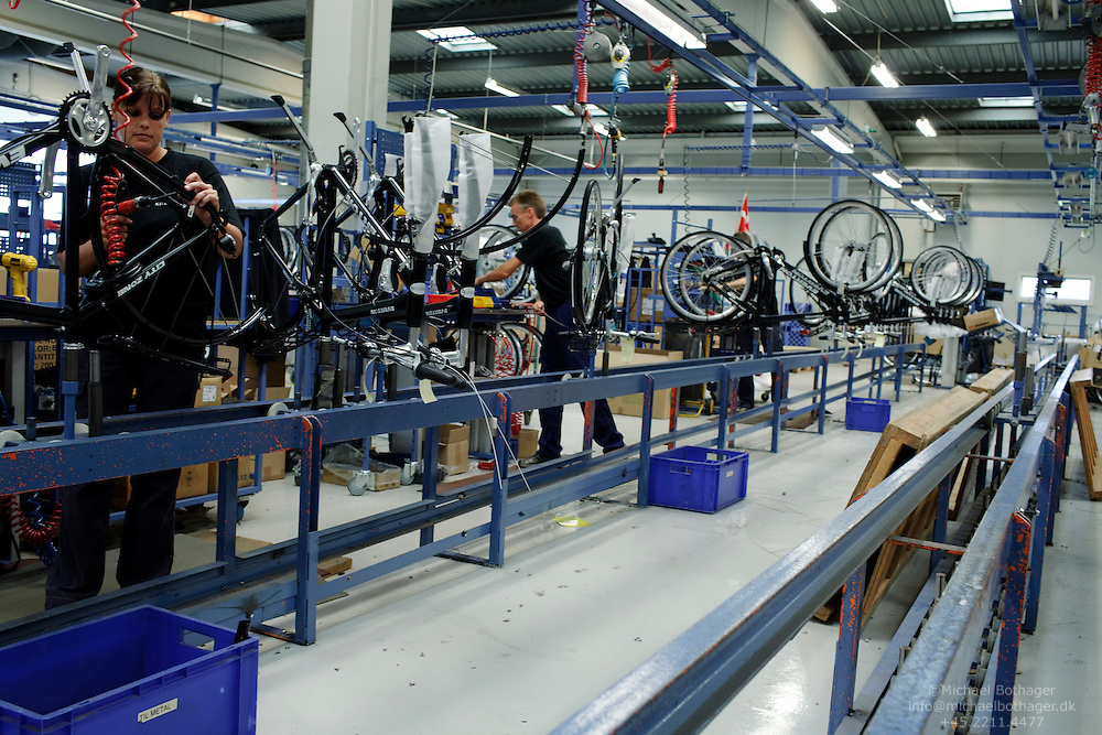 The Kildemoes Bicycle factory is closing down its domestic production.
