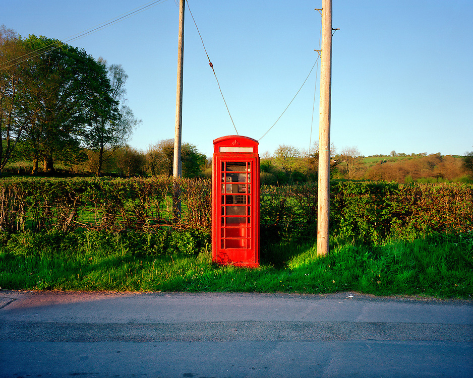 This kiosk is in: Pentrebach, Sennybridge, Brecon, Wales.<br />
