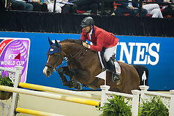 Karrasch Vinton, (USA), Coral Reef Follow Me II<br /> Longines FEI World Cup™ Jumping Final II<br /> Las Vegas 2015<br />  © Hippo Foto - Dirk Caremans<br /> 18/04/15