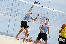 20140606 ITA: EK Beachvolleybal, Cagliari<br /> Jon Stiekema, Christiaan Varenhorst<br /> ©2014-FotoHoogendoorn.nl / Pim Waslander