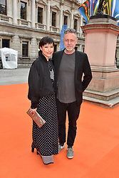 Sandra Choi and Tamburlaine Gorst at the Royal Academy of Arts Summer Exhibition Preview Party 2017, Burlington House, London England. 7 June 2017.