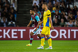 Juninho of NK Domzale during 2nd Leg football match between West Ham United FC and NK Domzale in 3rd Qualifying Round of UEFA Europa league 2016/17 Qualifications, on August 4, 2016 in London, England.  Photo by Ziga Zupan / Sportida
