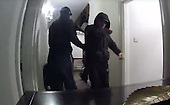 Homeowner just misses three burglars raiding their home