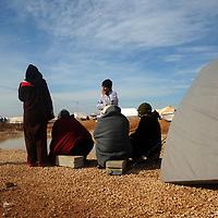 Refugee camp of Zaatari, Jordan