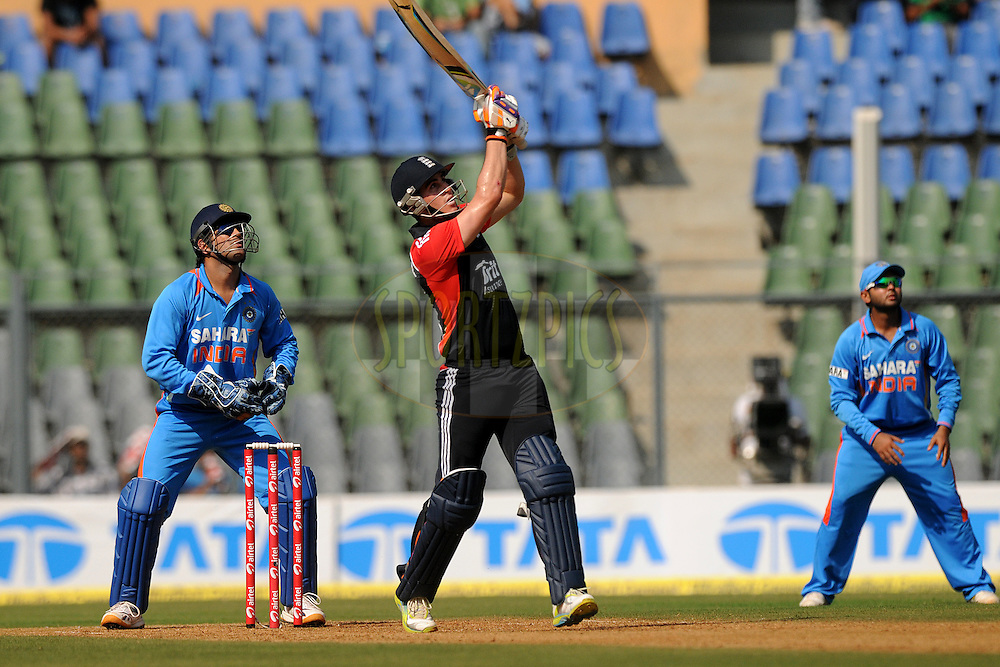 Craig Kieswetter of England bats during the 4th One Day International ( ODI ) match between India and England held at the Wankhede Stadium, Mumbai on the 23rd October 2011..Photo by Pal Pillai/BCCI/SPORTZPICS