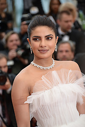 May 18, 2019 - Cannes, France - CANNES, FRANCE - MAY 18: Actress Priyanka Chopra attends the screening of ''Les Plus Belles Annees D'Une Vie'' during the 72nd annual Cannes Film Festival on May 18, 2019 in Cannes, France (Credit Image: © Frederick InjimbertZUMA Wire)