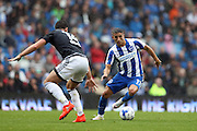 Brighton & Hove Albion winger Anthony Knockaert (11) during the EFL Sky Bet Championship match between Brighton and Hove Albion and Brentford at the American Express Community Stadium, Brighton and Hove, England on 10 September 2016.