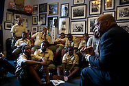 "U.S. Rep. John Lewis, D-Georgia, who marched with the Rev. Martin Luther King Jr. on ""Bloody Sunday"" in Selma in 1965, speaks about his experiences with the civil rights movement to Boy Scout Troop 772 at his office in Washington, D.C. on July 23, 2014. (XAVIER MASCAREÑAS/TREASURE COAST NEWSPAPERS)"